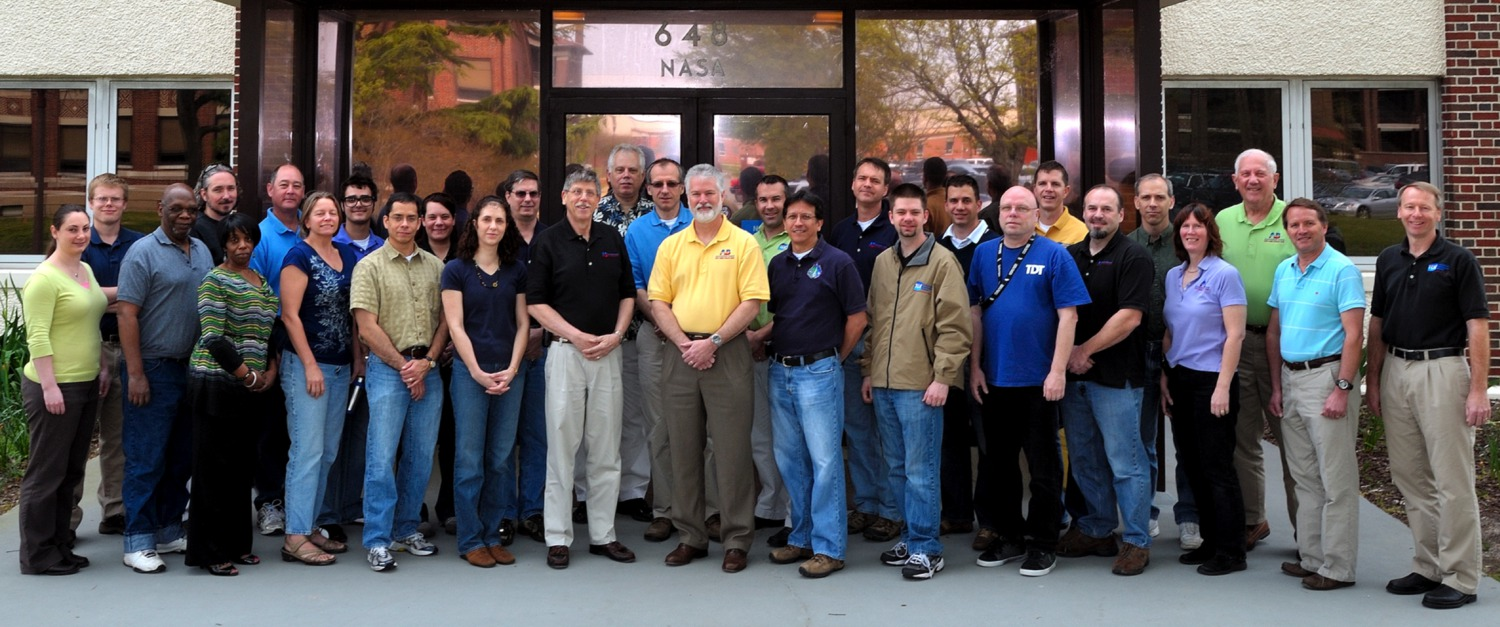Aeroelasticity Branch Group Photo